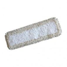 Моп плоский, из микрофибры, петлевой с ушками 42х14 см