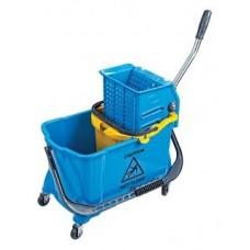 Ведро для уборки с отжимом, 24 л, на колесах HTS731