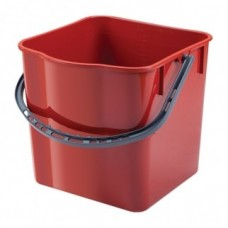 Ведро 25 л пластик, носик для слива воды
