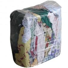 Ветошь цветная 40х60 см, х/б, п/э упаковка 10 кг