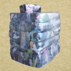 Ветошь х/б фланель 40х60 см, упаковка 10 кг