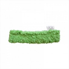 Шубка для мытья окон, 35 см, микрофибра, липучка