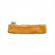 Шубка для мытья окон, 25 см, микрофибра, липучка
