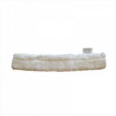 Шубка для мытья окон, 20 - 45 см, белая, микрофибра, липучка