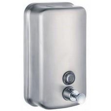 Диспенсер Ksitex SD 1618-800M для жидкого мыла антивандальный, матовый